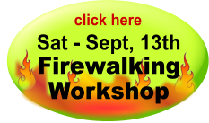 Firewalking Workshop